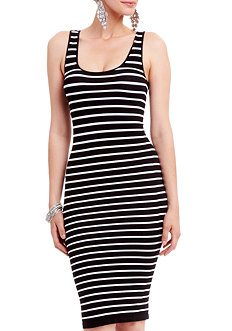 2b Carri Midi Stripe Dress