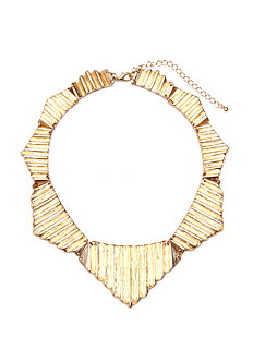 2b Corigated Collar Necklace