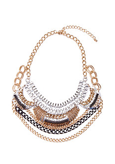 Short Tribal Statement Necklace at 2b
