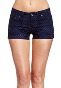 2b Polka Dot Print Short