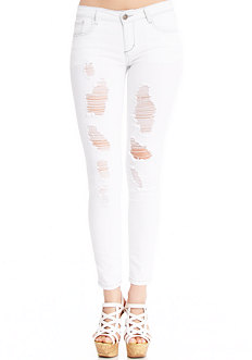 2b Stacy Rip n Repair Skinny Jean