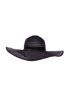 2b Vanessa Shadow Stripe Floppy Hat