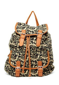 Camo Backpack at 2b
