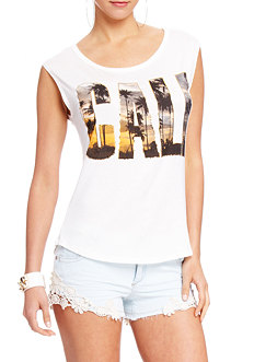 2b Cali Palm Shadow Muscle Tee