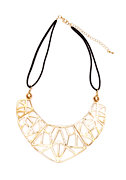 2b Outlined Tribal Collar Necklace