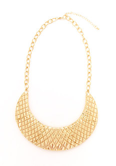 2b Lattice Collar Short Necklace