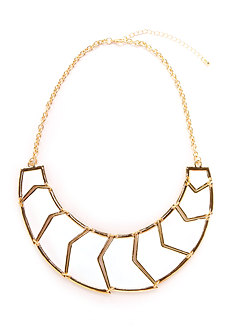 2b Tribal Disks Collar Necklace