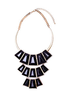 Tribal Gems Collar Necklace at 2b