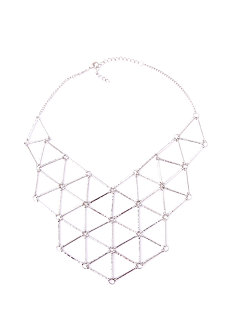 2b Caged Collar Necklace