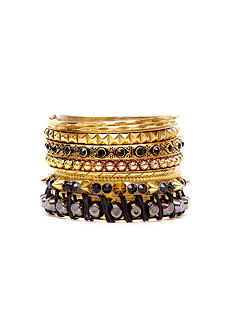 2b San Diego Spiked Bangle Set
