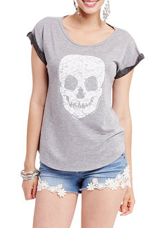 2b Short Sleeve Slashed Back Sweatshirt