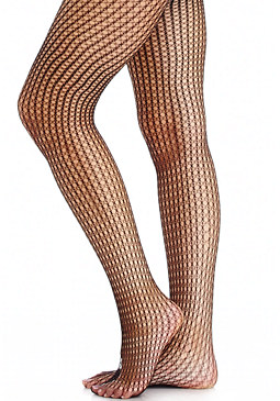 2b Square Fishnet Tight