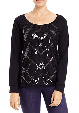 2b Sequin Sweatshirt