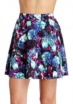 2b Jeweled Bouquet Mini Skirt