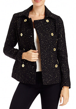 2b Zipper Trim Peacoat