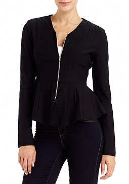 2b Fay Fitted Peplum Jacket
