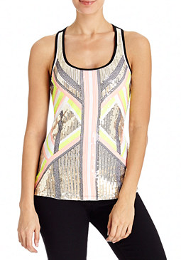 2b Party Tribal Sequin Tank