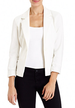 2b 1 Button Ponte Blazer