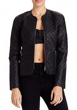 2b Quilted Zipper Jacket