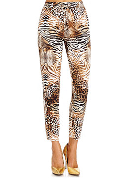 2b Jungle Soiree Carrot Pants�