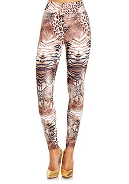 2b Jungle Soiree High Jegging