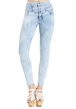 2b Rope Up High Waist Jeans