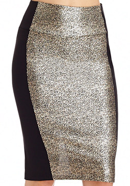 2b Crackle Foil Skirt