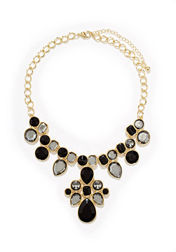 2b Floral Stone Necklace ��