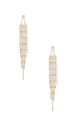 2b Art Deco Linear Earring��