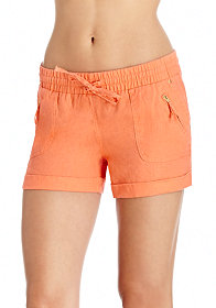 2b Drawstring Zippered Short
