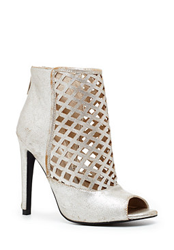Caged Peeptoe Bootie at bebe