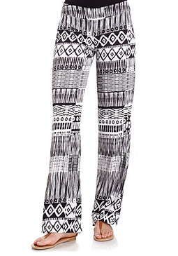 Tribal Palazzo Pants at bebe