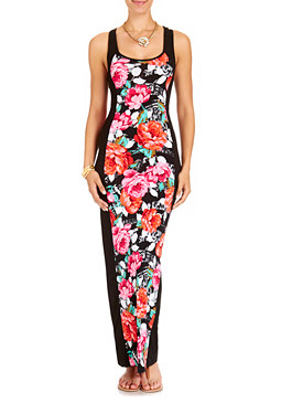 2b Native Bloom Maxi Dress