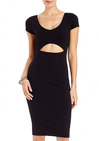 2b Addie Cutout Midi Dress