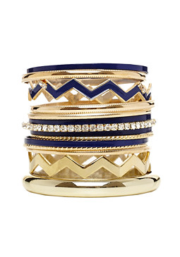 2b Saint Martin Bangle Set