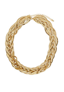 2b Braided Chain Necklace���