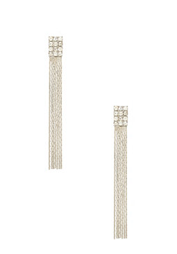 2b Linear Rhinestone Earrings