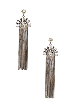 2b Art Deco Linear Earring