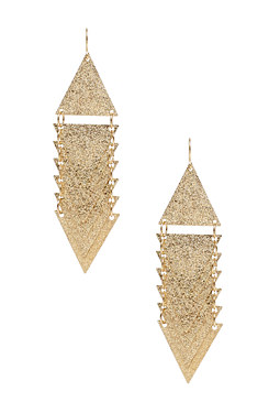 2b Dropdown Triangle Earrings