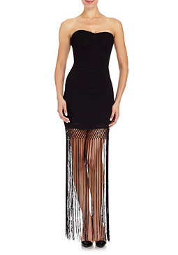 2b Nyra Fringe Lace Dress