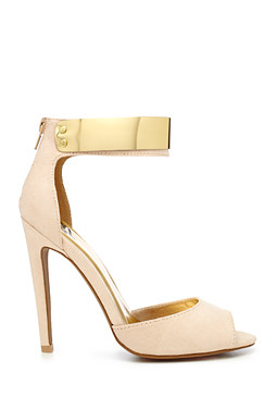 Emily Plated Pump at bebe