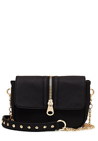 2b Zipper Crossbody Purse��