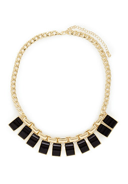 2b Chunk Statement Necklace���