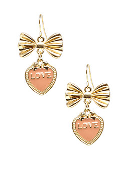 2b Epoxy Heart Love Earrings�