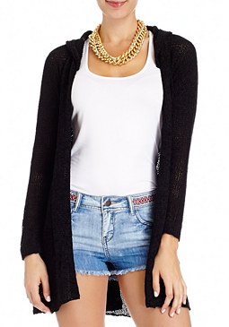 Long Sleeve Cardigan at bebe