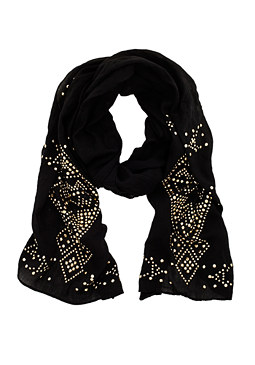 2b Sandy Embellished Scarf���