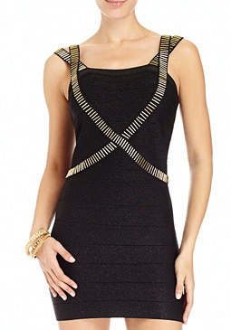 2b Nikki Beaded Sweater Dress