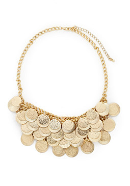 2b Coins Bib Necklace�