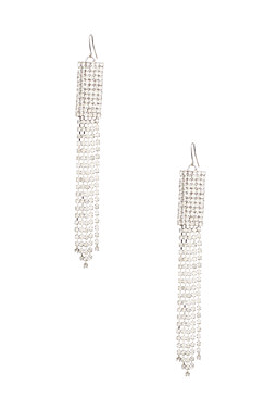 2b Rhinestone Linear Earrings