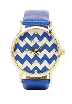 2b Chevron Band Watch